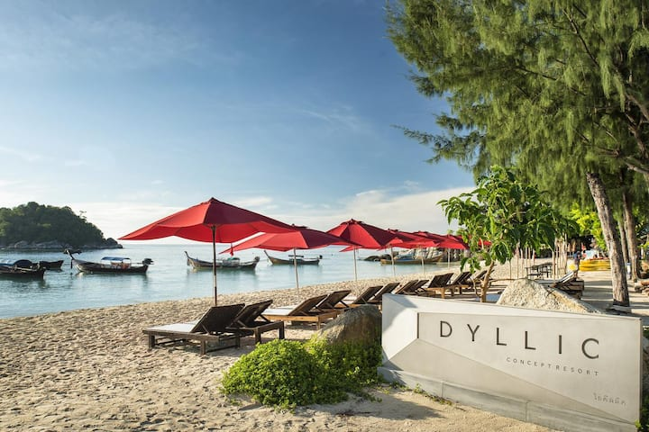 Idllyic Concept Sunrise Beach Lipe
