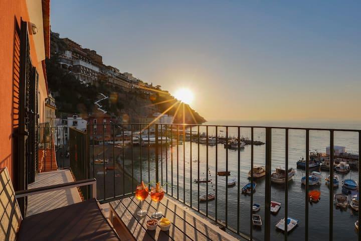 Appartamento sul mare a Marina Grande a Sorrento