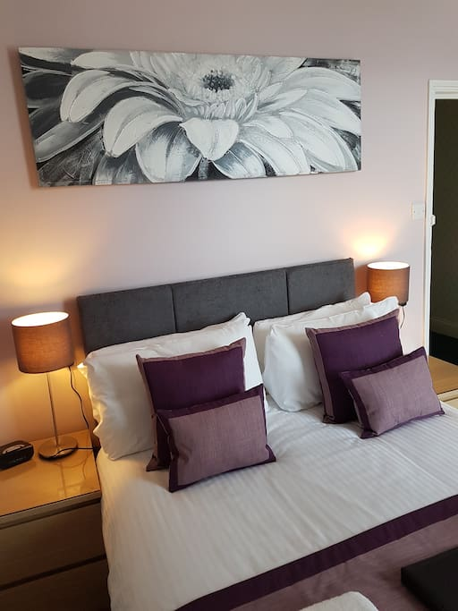 Stylish and comfortable room with en-suite
