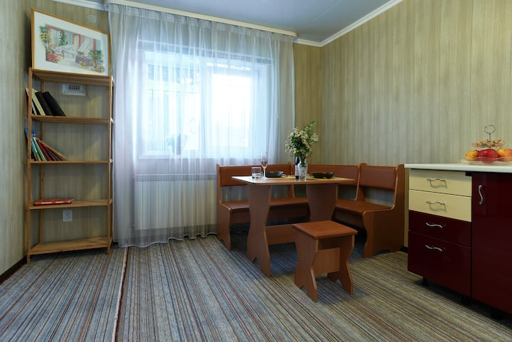 Single Room at Boryspil Central Park GuestHouse