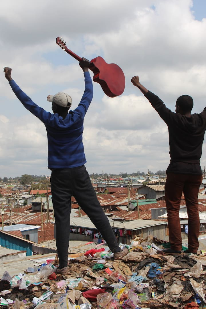 Rise to the top of Kibera with music
