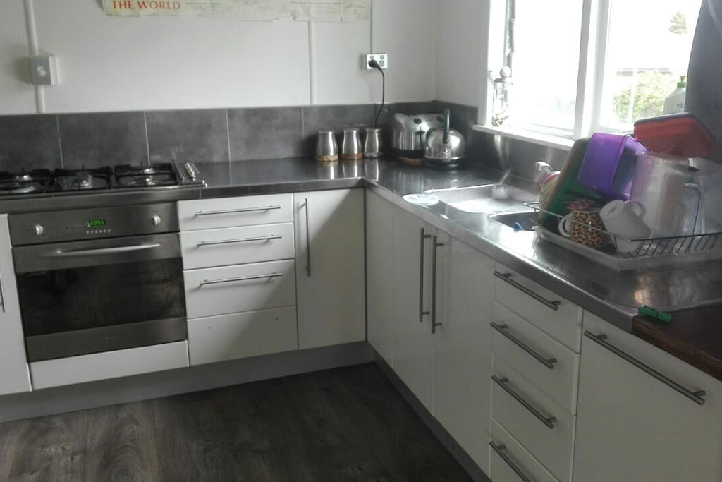 If your a Wizz in the kitchen I'm sure a chef/cook would be very comfortable in here!
