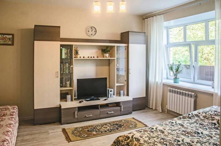 Новая уютная квартира в 10 минутах от центра.