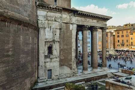 The Pantheon experience - Rome