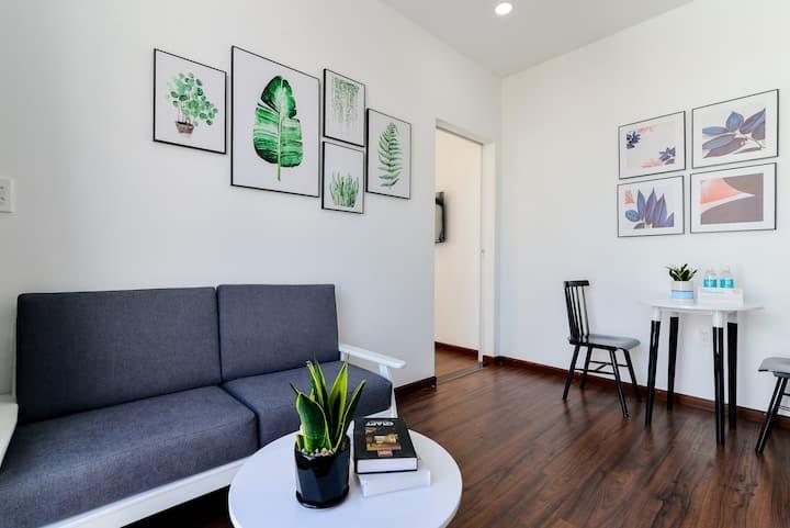 Cozrum Homes - @1BR Apt w Unique Drawings @Sofa