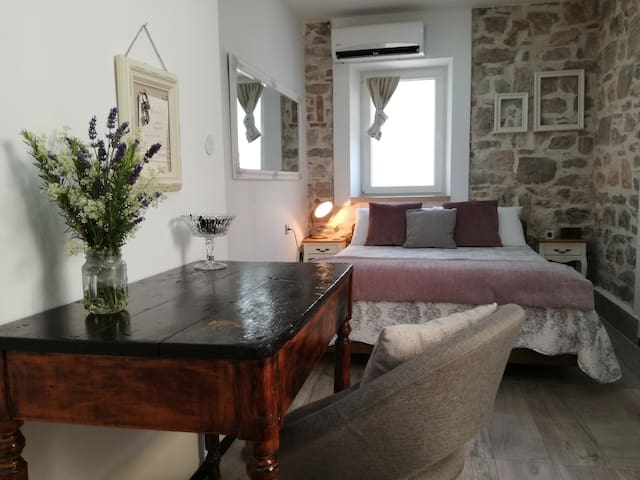 Stone romantic room