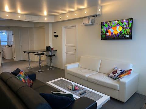 Vacker lägenhet i centrum Husavik