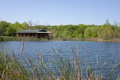 Dos Equis Ranch Lake Cabin- Your Private Excape
