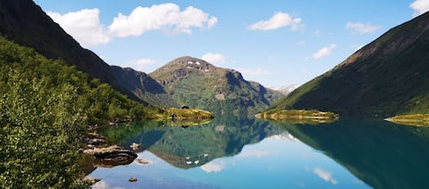 Idyll i fjellet - Galdhøpiggen/Kyrkja/Sognefjellet