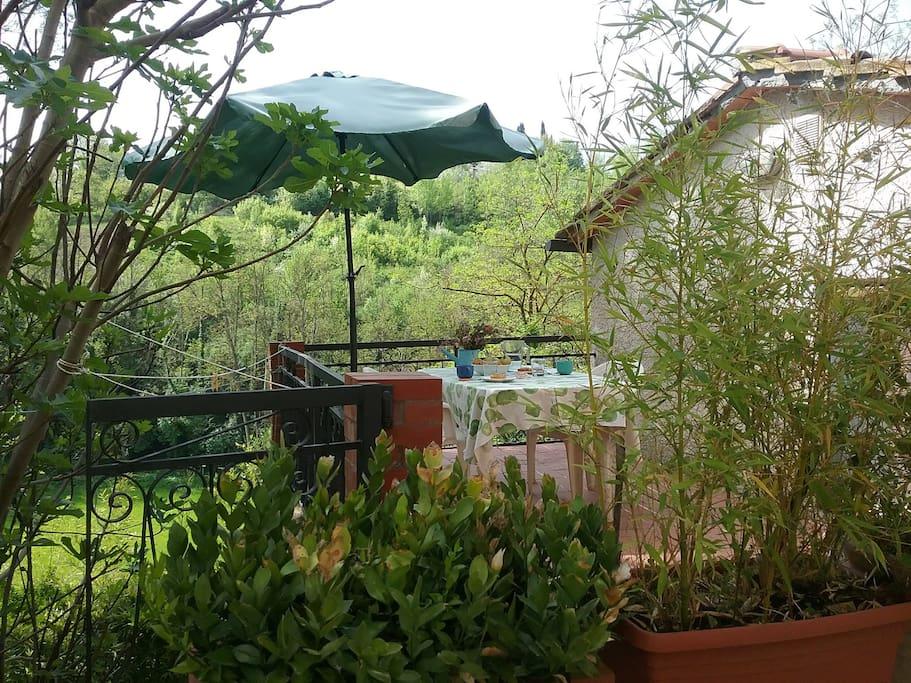 La terrazza della Casetta