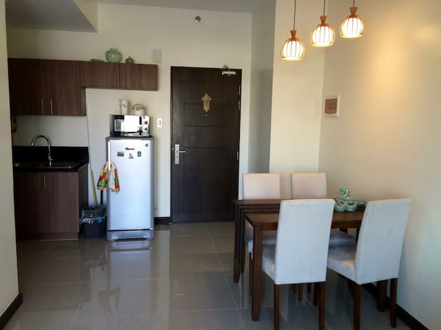1BR with WIFI at Robinson's Magnolia, QC