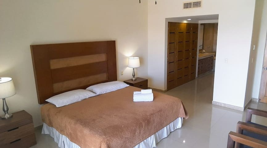 Bedrooms and bathrooms are fully equipped