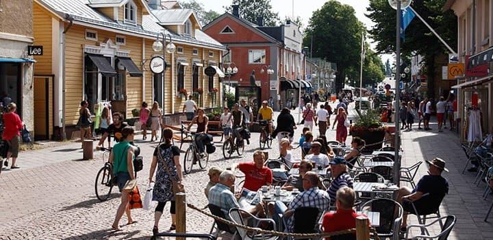 Egen lägenhet i Mariehamns absoluta centrum