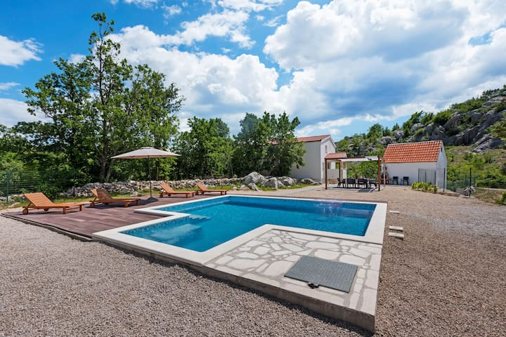 Countryside Villa near Split with Private Pool