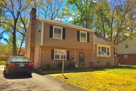 20 Minutes from Richmond Downtown - Richmond - Huis
