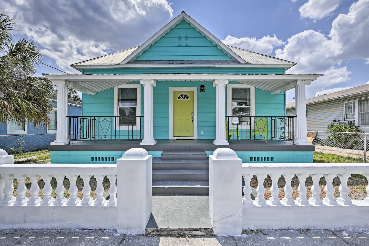 Plan your Tampa escape to this charming 4-bedroom, 2-bath vacation rental home!
