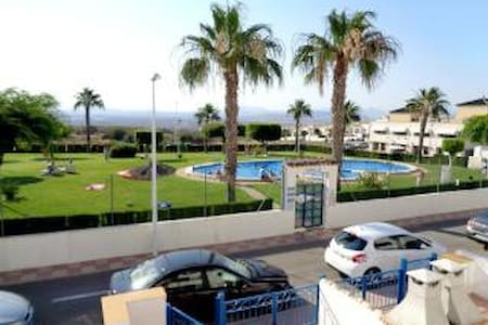 Poolside family apartment near Alicante - Santa Pola