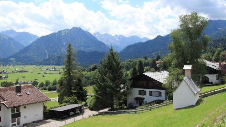 Oberstdorf - Wellness (Sauna) mit Panoramablick