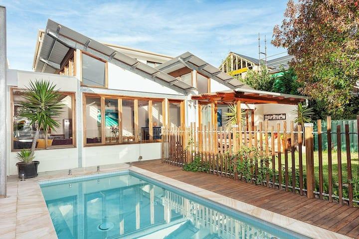 Sunny Family Beach House
