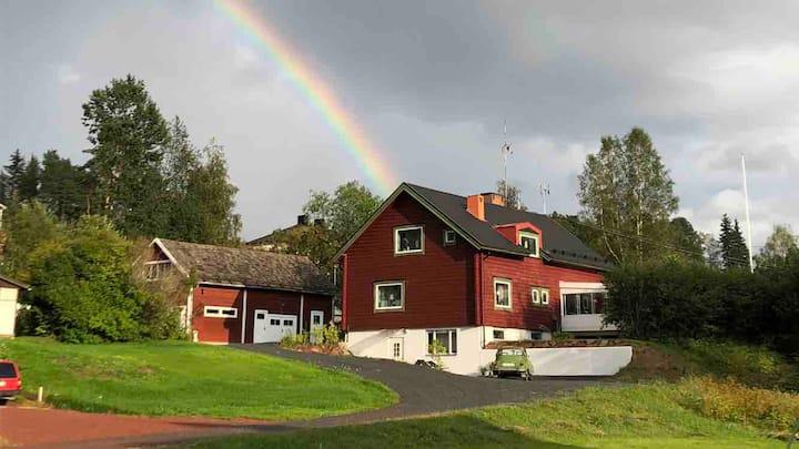 Country house gård på landet! 12 bädds Vasaloppet