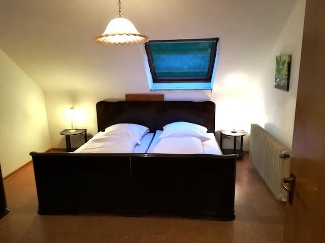 Vintage Hotel Hoferer, (Bad Peterstal-Griesbach), Ferienwohnung im DG, 90qm, 2 Schlafzimmer, bis max. 4 Personen