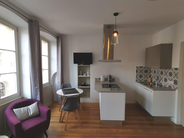 Studio place du Koïfhus. Plein centre