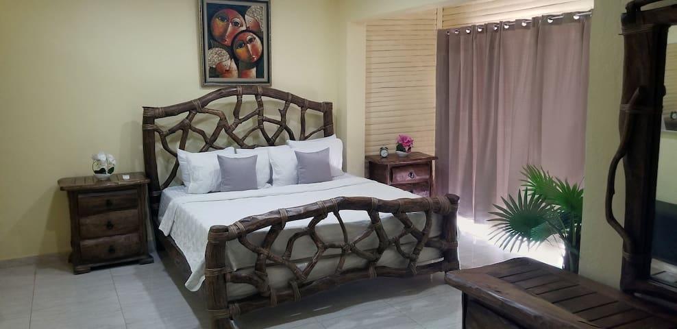 Rare bedroom set in master bedroom