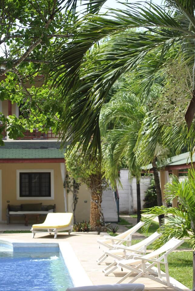 Girasoli resort appartments and swimming pool
