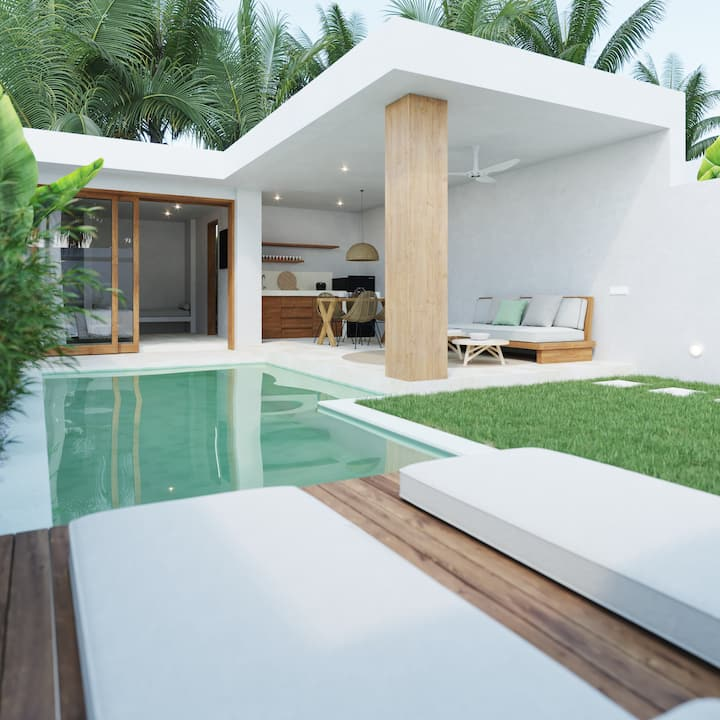 Kalea Villa, new private villa in Kuta center