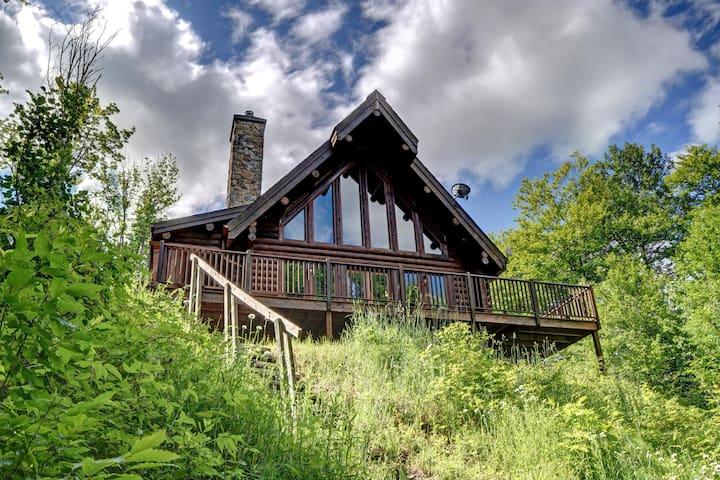 Caribou Waterfront Cottage Mont Tremblant - La Minerve - Cabana