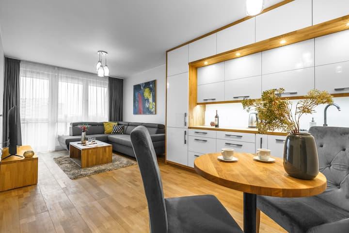 Emihouse PREMIUM apartament z wanną w centrum-4os
