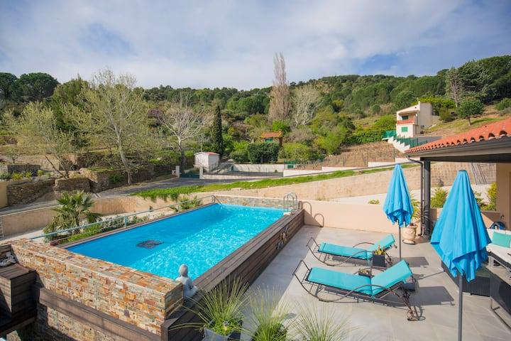 Belles chambres d'hôtes à Collioure