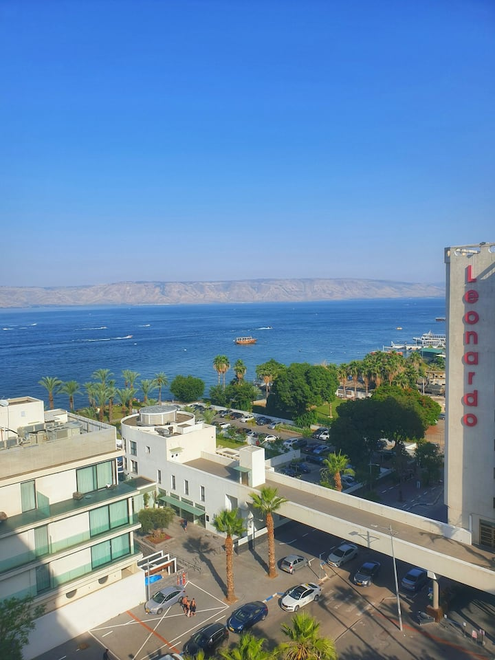 Chill at the Sea of Galilee