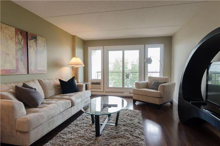 Modern & Relaxing 2 Bedroom Condo - Winnipeg - Huoneisto