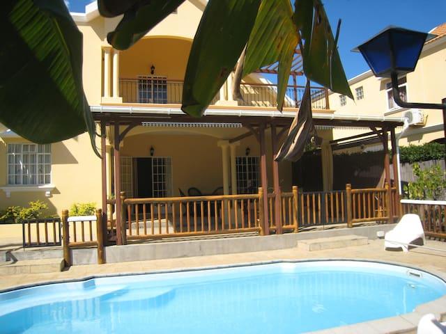 Villa Ginger, 5 chambres à Tamarin