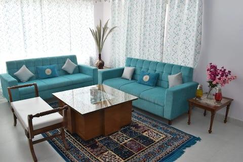 Cherish Cronus Vivera TerraceView Apt|3BR|Nainital