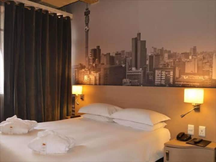 Hotel Stay in the Heart of Joburg