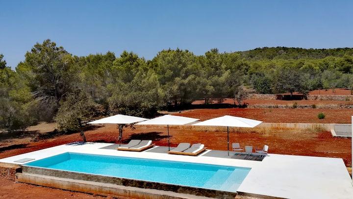 Casa con piscina L'ANNEXE. Ibiza