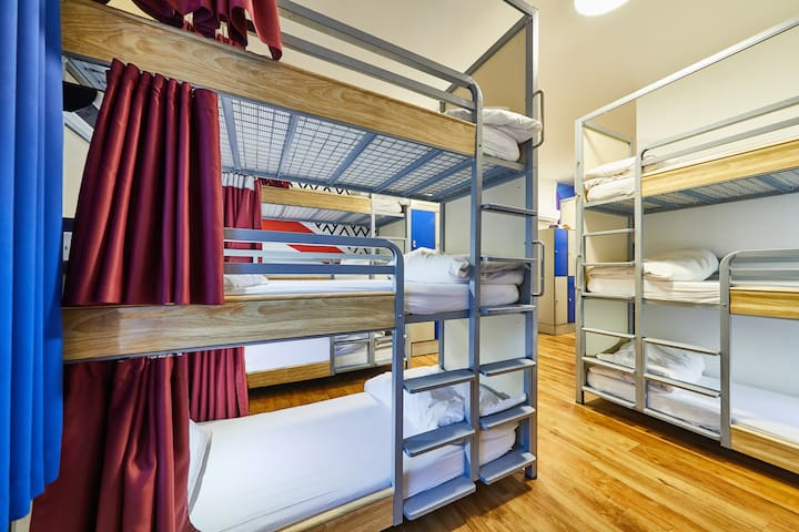 Bed in 21 Bed Dorm