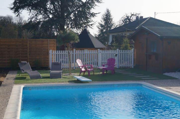 Domaine Saintpaul Bindernheim à 15 KM Europa Park - Bindernheim - Casa