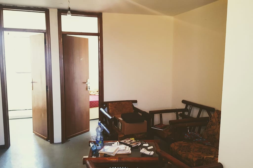 The Living Room & two Bedrooms