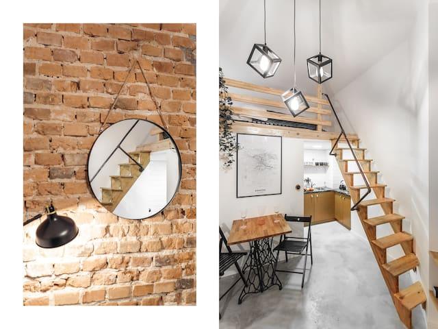 ☀Secret studio between Old Town and Kazimierz