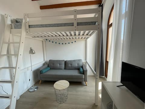 Loft C restaurat al centre de Vilafranca