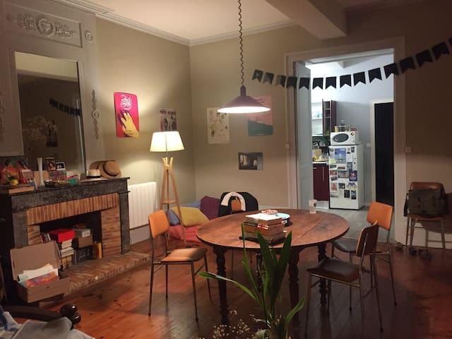 Charmant appartement vieux cognac - Cognac - Apartment
