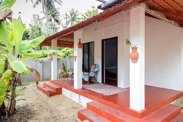 Cottage on Marari Beach, twin bed non a/c - Mararikulam - Appartement