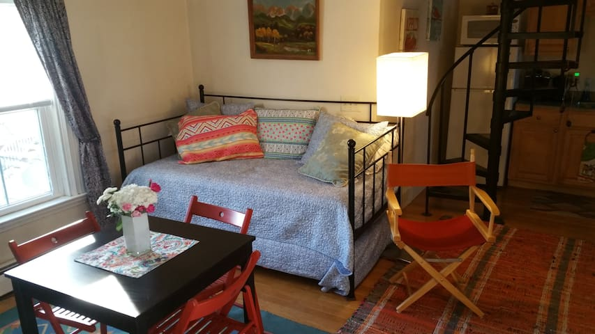 Quirky studio in Jamaica Plain