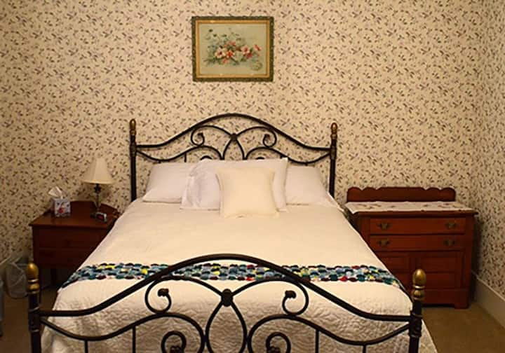 The Steward House B&B - Magnolia (Queen bed with private bath)
