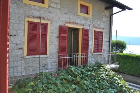 Casa sul Lago d'Orta-Ca dl'Elvira - Pella - Rumah