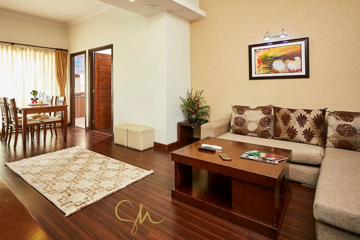 Ample spaced 2BHK apartment @Patan by Suite Homes