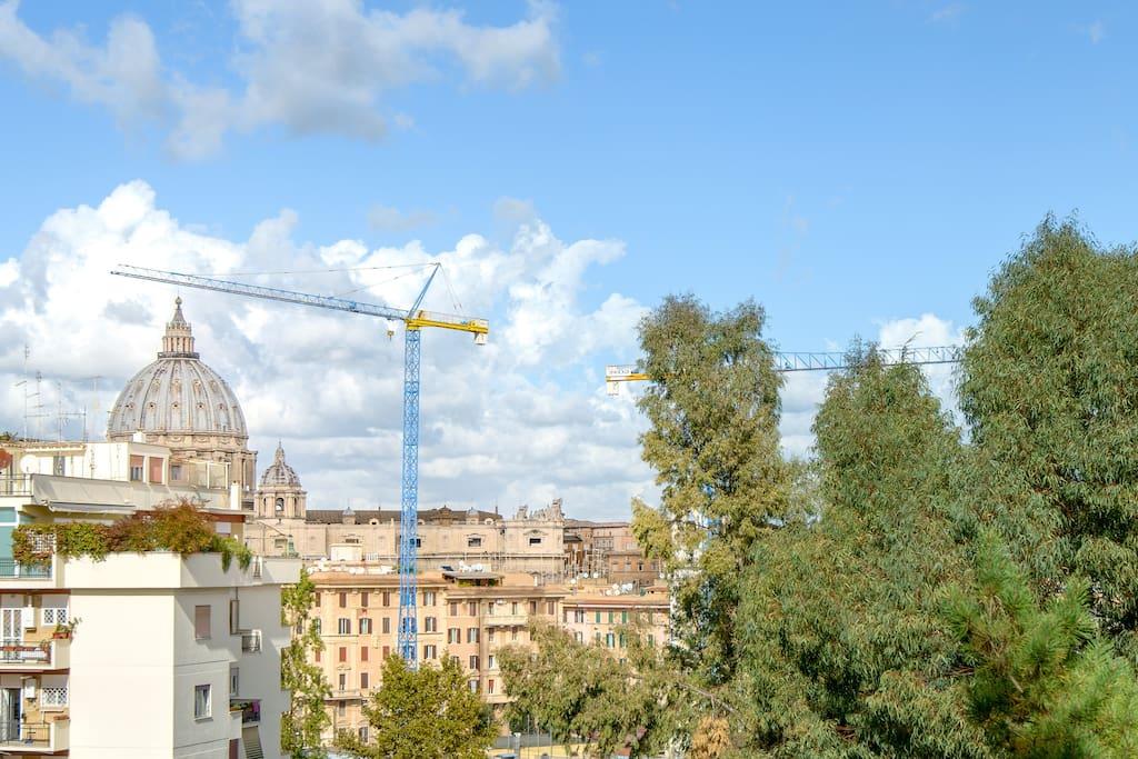 Visuale dal balcone di San Pietro